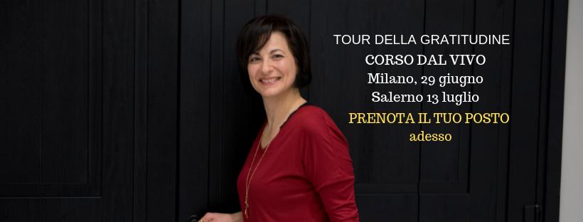 Tour della Gratitudine a Salerno - anna katia di sessa